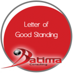 Letter of Good Standing